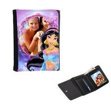 Disney Princess Jasmine Personalised Ladies Girls Purse, Wallet 12cm x 9cm