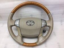 05 06 07 08 09 10 Toyota Avalon Steering Wheel WOOD FINISH OEM