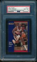 PSA 8 TERRY PORTER 1991-92 Fleer 3D Acrylic Wrapper Redemption #171 RARE NM-MINT