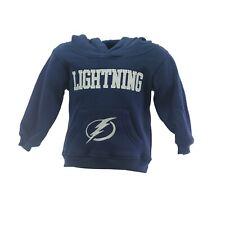Tampa Bay Lightning Nhl Apparel Baby Infant Toddler Size Hooded Sweatshirt New