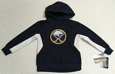 Reebok NHL Buffalo Sabres Kids Youth Sweatshirt Official Stitched on Logo