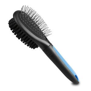 BV Dog Brush and Cat Brush Pet Grooming Comb Brush 2 Sided Bristle & Pin 1D