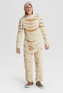 Hyde & Eek Adult Men's L Large Mummy Costume Halloween Cosplay New NWT