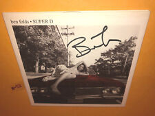 SIGNED by BEN FOLDS ep SUPER D cd 5 hits GET YOUR HANDS OFF MY WOMAN them that g