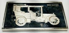 1974 STERLING SILVER FRANKLIN MINT CENTENNIAL CAR INGOT-1905 NAPIER-1.92 oz