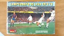 Cromos LIGA 75/76 de Ediciones Este