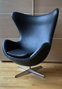 Original Fritz Hansen / Arne Jacobsen Sessel. Das Ei / Egg chair