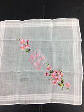 New Vintage Happy Birthday Hanky Ladies Handkerchief
