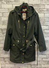 Michael Kors Ladies Coat size XL,  Fleece lined - Green - (NCF)