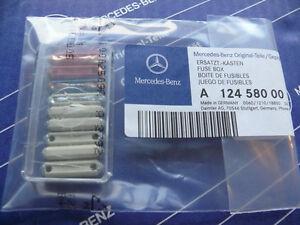 Genuine Mercedes spare fuse box W100 R107 W109 W111 W112 W114 W123 W124 W126