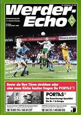 BL 86/87 SV Werder Bremen - FC Schalke 04, 14.11.1986, Rudi Völler