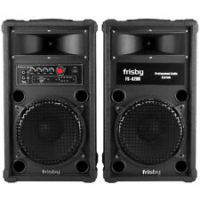 Frisby Fs-4200 Bluetooth Amplified Speaker System Party Machine w/ Usb Sd Remote