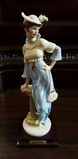 """Giuseppe Armani Figurine Figure Sculpture Statue """"Late Again"""" Mint Condition"""