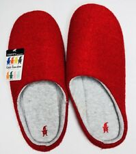 New Happy Kobito Red Room Shoes Slide Scuff Slippers Large 7.5-10  Boiled Wool