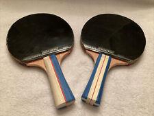 Pair Joy.J Sport Ping Pong Paddle Table Tennis Rackets