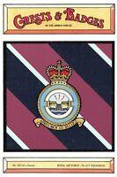 Postcard RAF Royal Air Force No.617 Squadron Crest Badge No.100 NEW