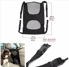 Vehicle Travel Pet Dog Safety Protector Car Back Seat Net Mesh Barrier 68x37cm