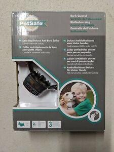 NEW PetSafe Little Dog Deluxe Anti Bark Collar Model PBC19-12443