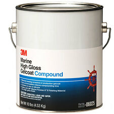 3M High Gloss Gelcoat Gel Coat Compound Marine Boat Buff Detail GALLON 06025