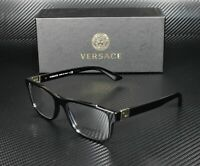 VERSACE VE3211 GB1 Black Demo Lens 55 mm Men's Eyeglasses