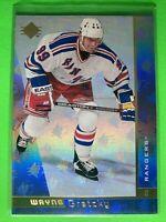 1996-97 Upper Deck SP #99 Wayne Gretzky New York Rangers Rainbow Foil