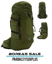 BOREAS - Halo 65Ltr Backpack - Halo Green / Monteray Grey