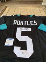 Blake Bortles Autographed/Signed Jersey Beckett COA Jacksonville Jaguars