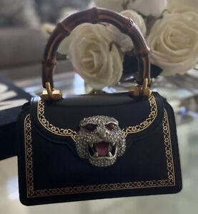 Gucci  Mini Thiara Top Handle Leather Satchel Handbag NWOT