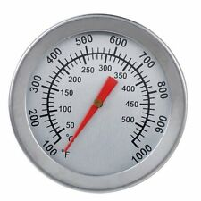 Outdoor BBQ Smoking Thermometer Temp Gauge Grill Smoker Pit Thermostat