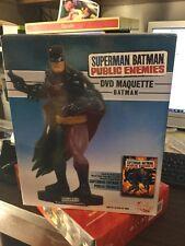 DC Direct Superman/Batman: Public Enemies DVD Batman Maquette 1164/4000