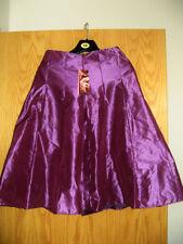 Monsoon Knee Length Silk Flippy, Full Skirts for Women
