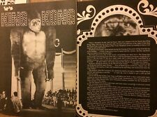 King Kong, Jessica Lange, Two Page Vintage Clipping