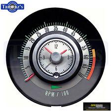 68 Camaro Instrument Panel Tic Tach Tach Z28 Tachometer Clock 6000 rpm redline