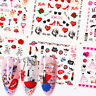Wasser Aufkleber Valentinstag Serie Transfer Nagel Sticker Decal Nail Art Tattoo