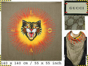 GUCCI Scarf For Man Made In Italy 300€ Here Less! GG03 L-1