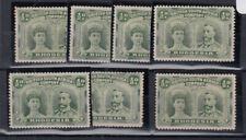 RHODESIA 1910-13 P.14 ½d green assembly - 9485