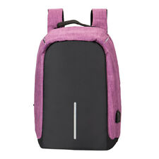 Anti-theft Waterproof Unisex Laptop Notebook Backpack with USB Charging Port New