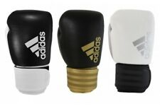 Adidas Hybrid 200 Boxing Gloves Leather Sparring 12 14 16oz Gold Black Red White