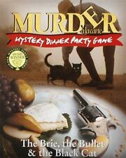 Murder Mystery Dinner Party Game The Brie The Bullet & The Black Cat  Ideal Gift