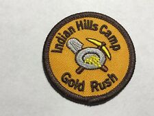 Indian Hills Camp Gold Rush Summer Jamul, CA California Tribe Western Patch C
