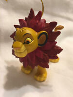 1995 SIMBA Lion King Disney Grolier's Collectible Ornament New No Box First Iss.