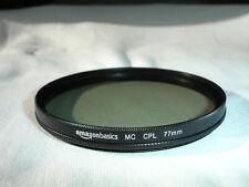 AMAZONBASICS 77mm  MC CPL Filter - circular polarizer polarizing