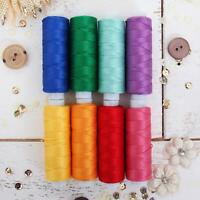 Threadart 6 Color Pearl Cotton Thread Set Purple//Pink Shades 75yd Spools Size 8