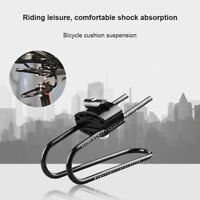 New Saddle Suspension Device Shock Absorber Set Mountain Bike Alloy Spring Steel