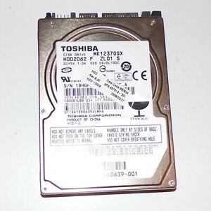 Toshiba 120GB SATA Internal Laptop Hard Drive HDD  MK1237GSX