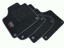 Tappetini Audi A3 8P dal 2003 al 2012 1 ricamo + clip + battitacco