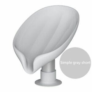 Leaf Shape Soap Box Drain Soap Holder Box Bathroom Shower Soap HolderBathroom
