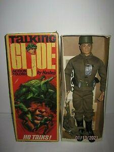 Vintage 1964 GI JOE Talking Action Soldier  Hasbro  Whit  Original Box 7590!!!