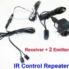 IR Infrared Remote Extender Control System Repeater 2 Emitter 1 Receiver U102 AU