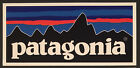 Patagonia Retro Flat Vinyl Sticker Decal Fishing Hiking Camping L Single